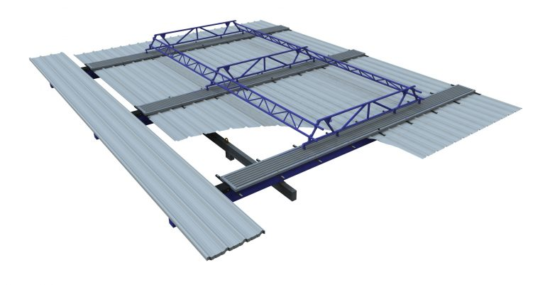Panelizer 24' Roof Configuration